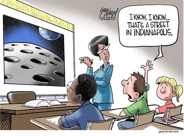 Indy cartoon